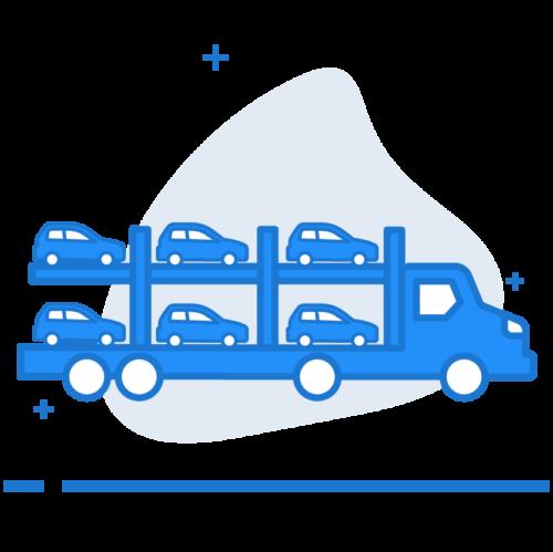 car shipping trailer